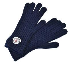 モンクレール 手袋 メンズ モンクレール 手袋 カシミヤ100% ニットグローブ MONCLER 2016 2 09 1 00521 ネイビー 【MORE SALE】 ラスト1点 メンズ 父の日