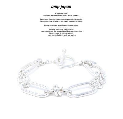 amp japan アンプジャパン HYJK-432 Ellipse2 AMP JAPAN チェーン ブレスレット  メンズ レディース