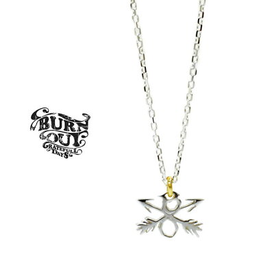 BURN OUT E54S08BF CROSSED ARROWS CHARM NECKLACE SILVER シルバー バーンアウト クロスドアロー ネックレス
