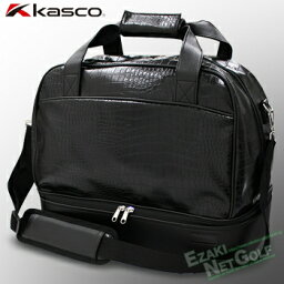 キャスコ キャスコゴルフ日本正規品クロコダイル調2層式ボストンバッグ「KST−111」【あす楽対応】