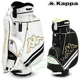 カッパ 【【最大2000円OFFクーポン】】KAPPA GOLF カッパゴルフ日本正規品 キャディバッグ 2018モデル 「KC858BA01」【あす楽対応】