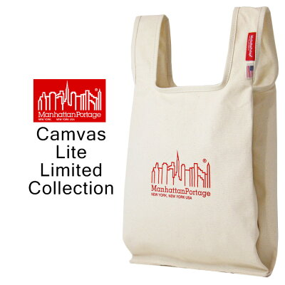【送料無料】 Manhattan Portage マンハッタンポーテージ Canvas Lite Botanical Tote Bag キャンバス ライト ボタニカル トート バッグ / メンズ レディース マルシェバッグ MP1329CVL