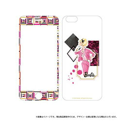 バービー iphone ケース iPhone7 ガラスフィルム バービーセット Barbie Design GlassFilm Set 両面 ピンク LP-BI7FGDPK /在庫あり/ アイフォン7 カバー アイフォーン スマホケース 送料無料おしゃれ 指紋