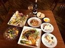 大阪のレストランチケット 【ふるさと納税】ふたばディナーセット2名様分(飲み放題付き)