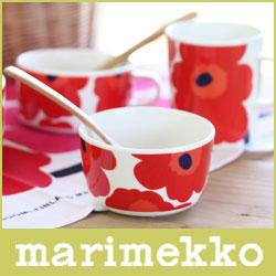 マリメッコ マリメッコ ( marimekko ) UNIKKO BOWL ウニッコ ボウル 250ml / ホワイト・レッド .