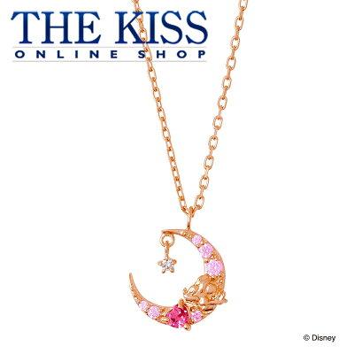【あす楽対応】【ディズニーコレクション】 ディズニー / ネックレス / ミッキーマウス / THE KISS ネックレス・ペンダント シルバー ダイヤモンド (レディース) DI-SN1846DM ザキス 【送料無料】【Disneyzone】