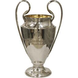 サポーターグッズ UEFAチャンピオンズリーグ オフィシャル レプリカトロフィー3D(100mm)【サッカー サポーター グッズ】(UEFA-CL-100)【店頭受取対応商品】