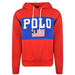 ラルフローレン ラルフ ローレン POLO RALPH LAUREN レディース パーカー トップス【Logo Hooded Sweatshirt】Red