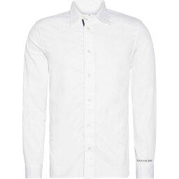 カルバン・クライン カルバンクライン Calvin Klein Jeans メンズ シャツ トップス【Mono Tape Shirt】Bright White