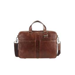 ウエストバッグ サムソナイト メンズ バッグ ショルダーバッグ【Samsonite West harbor brown leather bail handle】