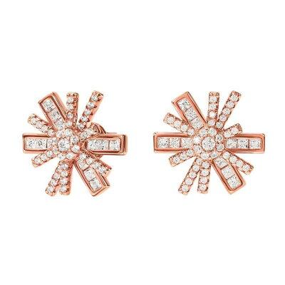 フォリフォリ Foli Follie レディース ジュエリー・アクセサリー イヤリング・ピアス【Star Flower Stud Earrings】Rose Gold