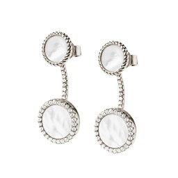 フォリフォリのイヤリング(レディース) フォリフォリ Foli Follie レディース ジュエリー・アクセサリー イヤリング・ピアス【H4H Mirrors Silver Plated Earrings】Silver