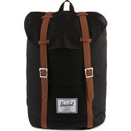 ハーシェルサプライ ハーシェル サプライ レディース バッグ バックパック・リュック【retreat backpack】Black/tan pu