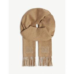 マックスマーラ マックスマーラ max mara レディース マフラー・スカーフ・ストール【logo camel hair scarf】Camel