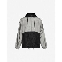 ボーイロンドン ボーイロンドン BOY LONDON メンズ ジャケット フード シェルジャケット アウター【Eagle graphic-print hooded shell jacket】BLACK GREY