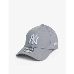 ニューエラ ニューエラ NEW ERA レディース キャップ 帽子【9FORTY New York Yankees cotton baseball cap】Gray/optic White
