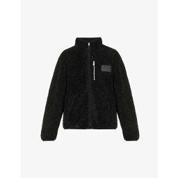 ボーイロンドン ボーイロンドン BOY LONDON メンズ ジャケット アウター【Arctic funnel-neck fleece jacket】BLACK
