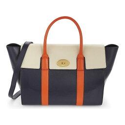 トートバッグ マルベリー mulberry レディース バッグ トートバッグ【bayswater leather bag】Midnight chalk orange