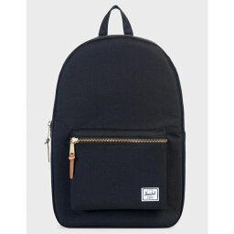 ハーシェルサプライ ハーシェル サプライ HERSCHEL SUPPLY CO. レディース バッグ バックパック・リュック【Settlement Black Backpack】Black
