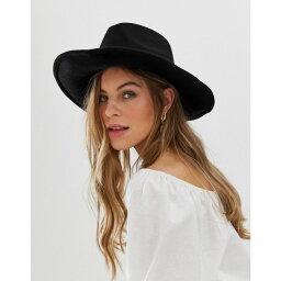 エイソス エイソス ASOS DESIGN レディース ハット カウボーイハット 帽子【felt cowboy hat】Black
