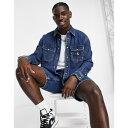カルバン・クライン カルバンクライン Calvin Klein Jeans メンズ シャツ デニム トップス【oversized denim shirt in mid wash】Blue