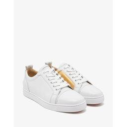 クリスチャンルブタン クリスチャン ルブタン Christian Louboutin メンズ シューズ・靴 スニーカー【Yang Louis Junior Latte & Gold Trainers】White