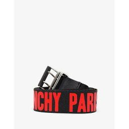 ジバンシー ベルト(メンズ) ジバンシー Givenchy メンズ ベルト【Canvas Logo Belt】Black