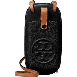 トリーバーチ スマホケース トリー バーチ TORY BURCH レディース スマホケース ショルダーバッグ【Perry Bombe Leather Phone Crossbody Bag】Black