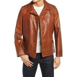 ショット ショット ニューヨーク SCHOTT NYC メンズ コート カーコート アウター【Cowhide Leather Car Coat】Nutmeg