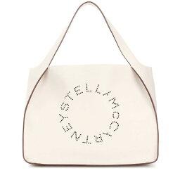 ステラマッカートニー マザーズバッグ ステラ マッカートニー レディース バッグ トートバッグ【Stella Logo faux leather tote】Pure White