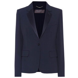 マックスマーラ マックスマーラ レディース アウター スーツ・ジャケット【Radioso crepe blazer】Navy
