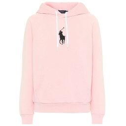 ラルフローレン ラルフ ローレン Polo Ralph Lauren レディース トップス パーカー【Cotton-blend jersey hoodie】Pink Sand