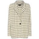 イザベルマラン イザベルマラン Isabel Marant レディース アウター ブレザー【Mark wool-blend printed knitted blazer】