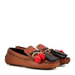 トッズ トッズ Tod's レディース シューズ・靴 ローファー【Gommino Gipsy Catena leather moccasins】