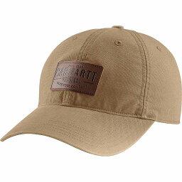 カーハート カーハート Carhartt メンズ キャップ 帽子【rigby stretch fit leatherette patch cap】Dark Khaki