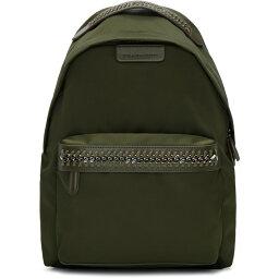 ステラ マッカートニー ステラ マッカートニー Stella McCartney レディース バッグ バックパック・リュック【Green Nylon Chain Backpack】