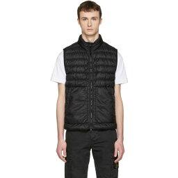 ストーンアイランド ストーンアイランド Stone Island メンズ アウター ベスト【Black Down Packable Vest】
