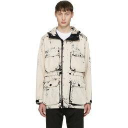 ストーンアイランド ストーンアイランド Stone Island メンズ アウター ジャケット【Ecru Hand Corosion On Raso Jacket】