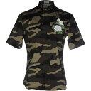 ディオールオム クリスチャン ディオール DIOR HOMME メンズ シャツ トップス【patterned shirt】Military green