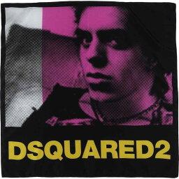 ディースクエアード ディースクエアード DSQUARED2 レディース マフラー・スカーフ・ストール 【square scarf】Black