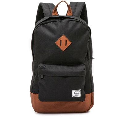 ハーシェル サプライ Herschel Supply Co. レディース バッグ バックパック・リュック【Heritage Mid Volume Backpack】Black