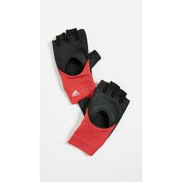 アディダス 手袋(メンズ) アディダス adidas by Stella McCartney レディース 手袋・グローブ【Training Gloves】Black/Core Red/Silver