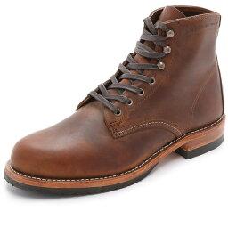 ウルヴァリン ウルバリン1000マイル メンズ シューズ・靴 ブーツ【Evans Boots】Brown
