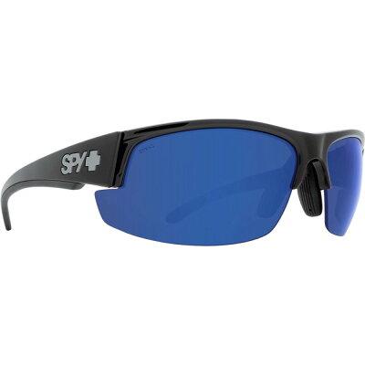 スパイ メンズ スポーツサングラス【Sprinter Polarized Sunglasses】Black Ansi Rx - Happy Bronze Polar W/Dark Blue Spectra