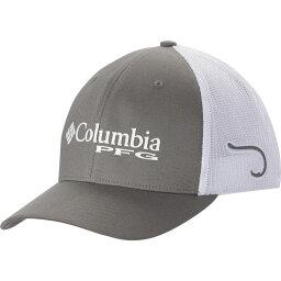 コロンビア コロンビア Columbia メンズ キャップ トラッカーハット 帽子【PFG Mesh Trucker Hat】Titanium/Hook