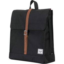 ハーシェルサプライ ハーシェル サプライ Herschel Supply レディース バックパック・リュック バッグ【City Mid - Volume 14L Backpack】Black/Tan Synthetic Leather