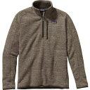 パタゴニア パタゴニア Patagonia メンズ アウター ジャケット【1/4-Zip Better Sweater】Pale Khaki