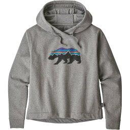 パタゴニア パタゴニア Patagonia レディース パーカー トップス【fitz roy bear uprisal hoodie】Gravel Heather