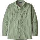 パタゴニア パタゴニア Patagonia メンズ シャツ トップス【Sol Patrol Long Sleeve Button Down Shirt】Celadon
