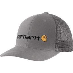 カーハート カーハート Carhartt メンズ キャップ トラッカーハット 帽子【Mesh Back Signature Graphic Trucker Hat】Asphalt